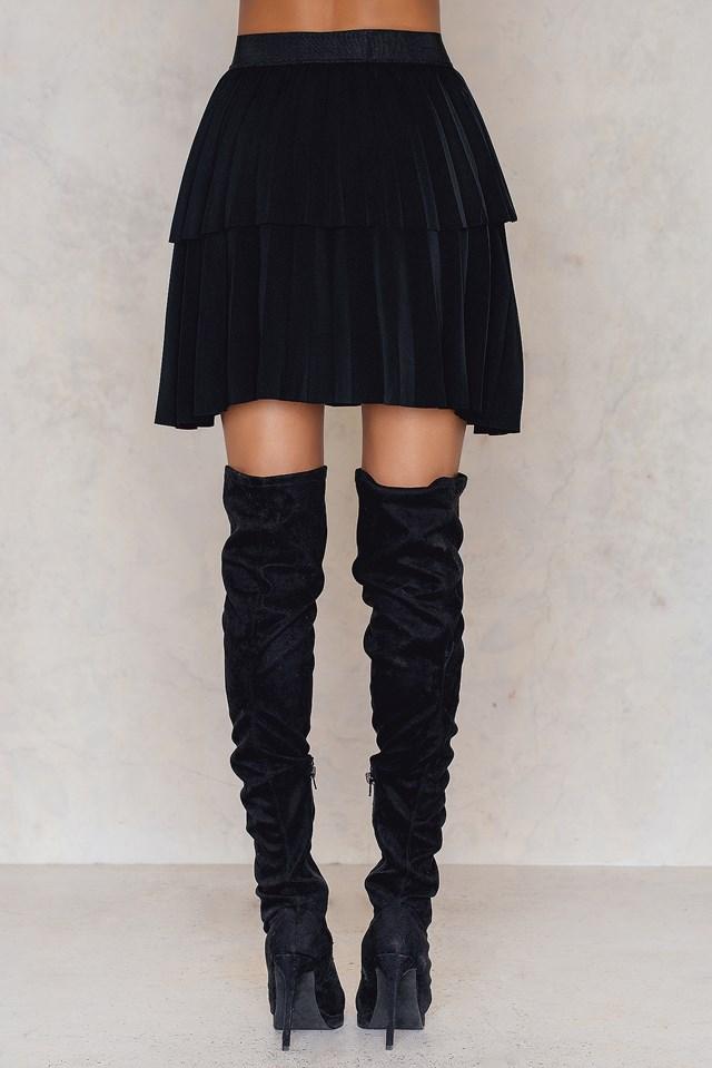 Yasjulia Skirt Black