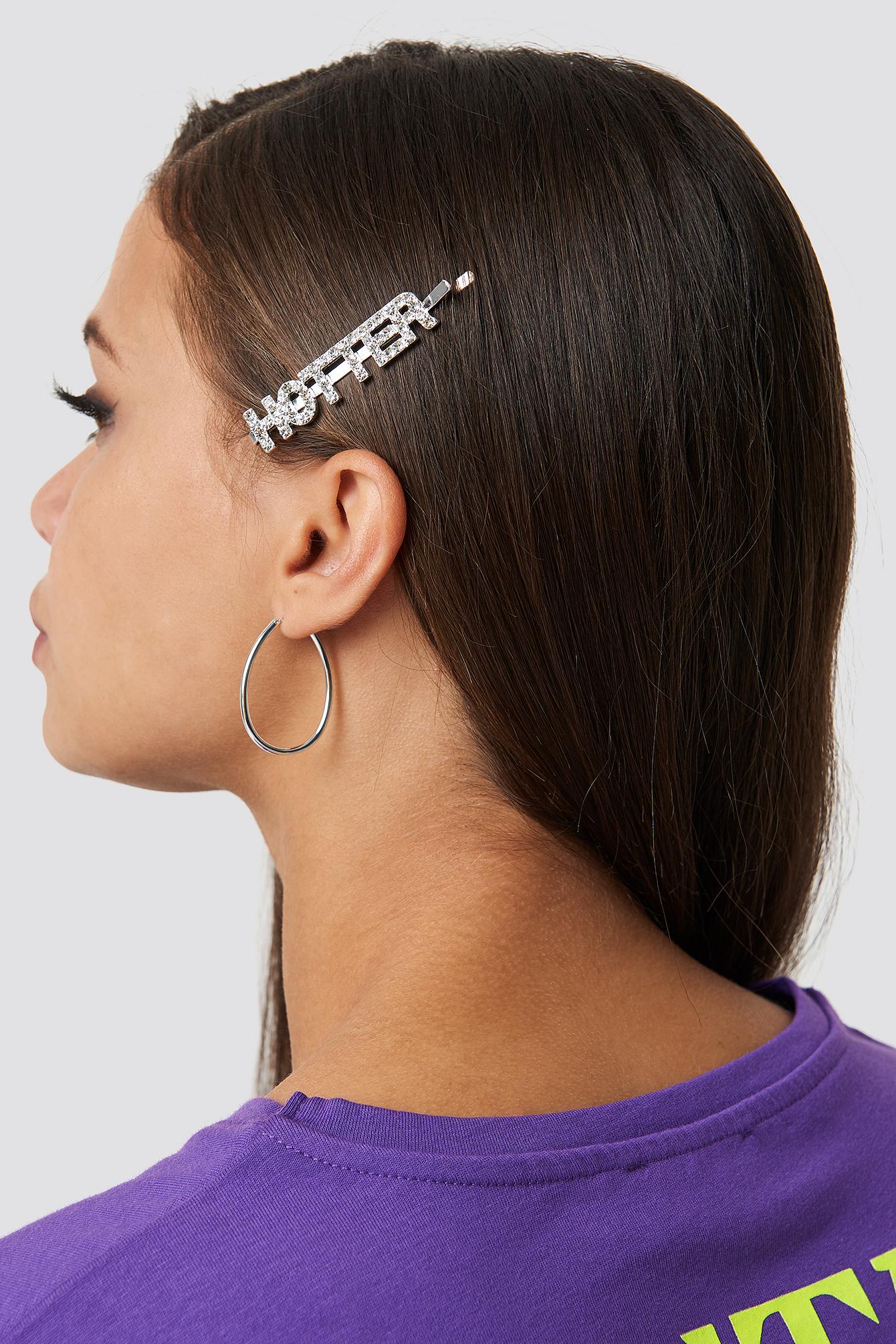 Hotter Rhinestone Hairclip - Silver
