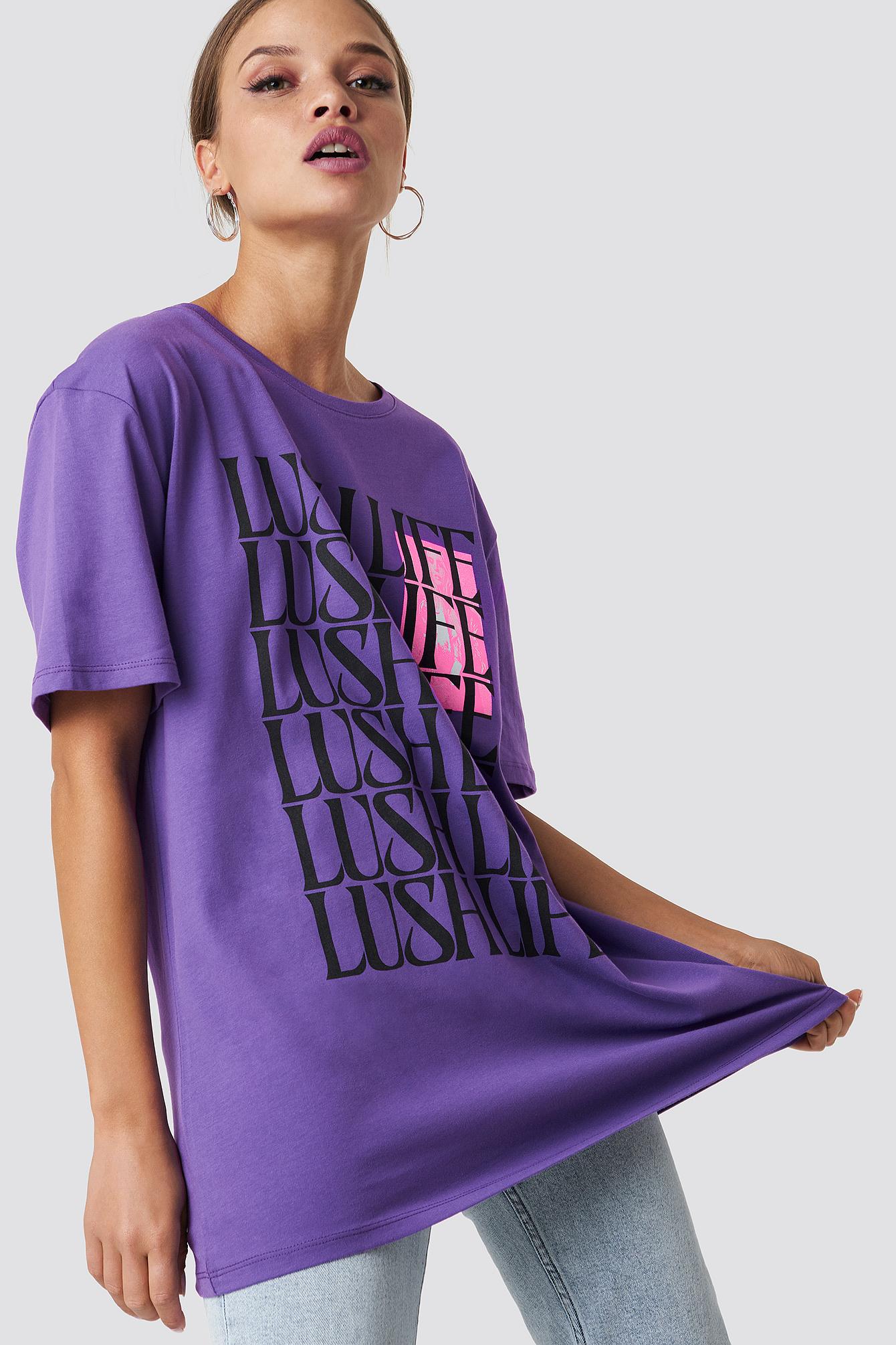 Lush Life Unisex Tee - Purple