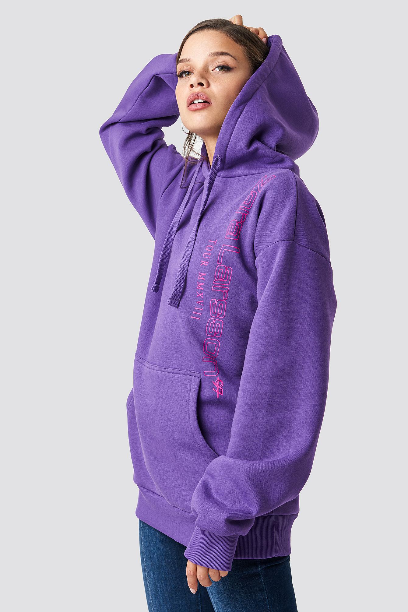 zara larsson -  Unisex Hoodie - Purple
