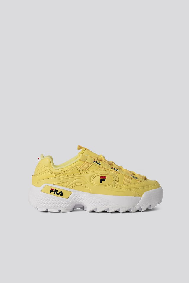 D-Formation Sneakers Lime