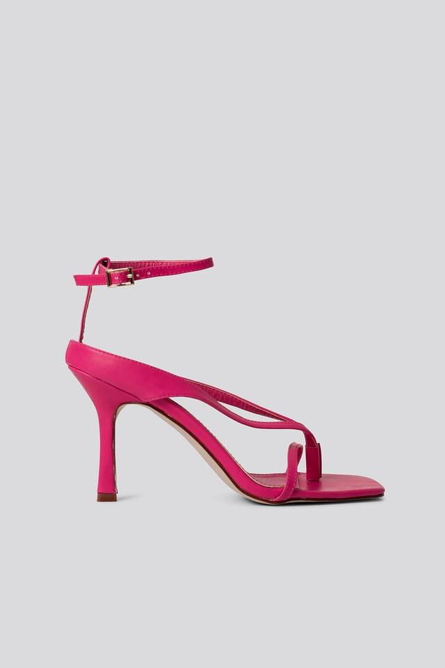 Korkeakorkoiset Sandaalit Pink