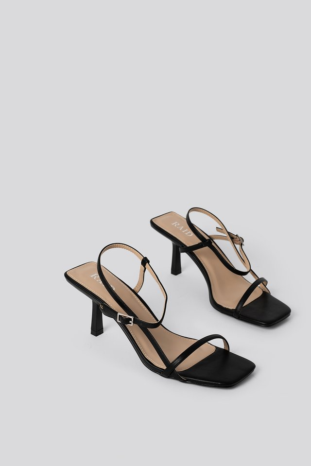 Sandaalit Black PU