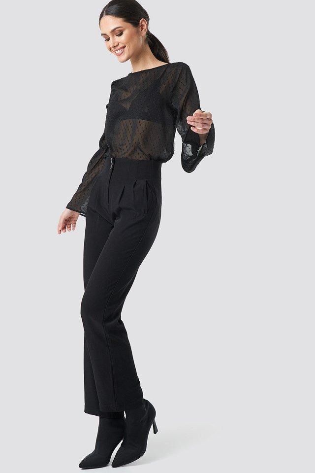 Chiffon Blouse Outfit