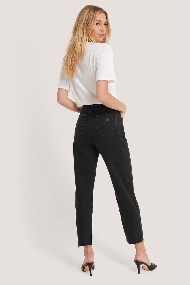 A 94 High Slim Jeans Black Box