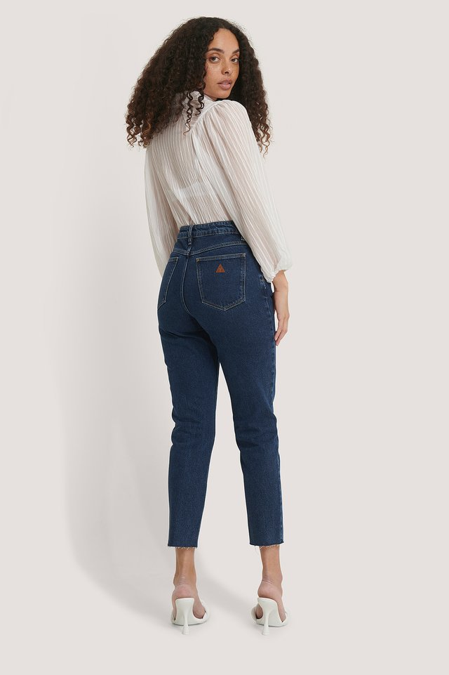 A 94 High Slim Jeans Cindy Blue