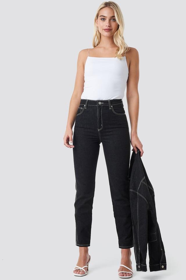 Mary J A 94 High Slim Jeans