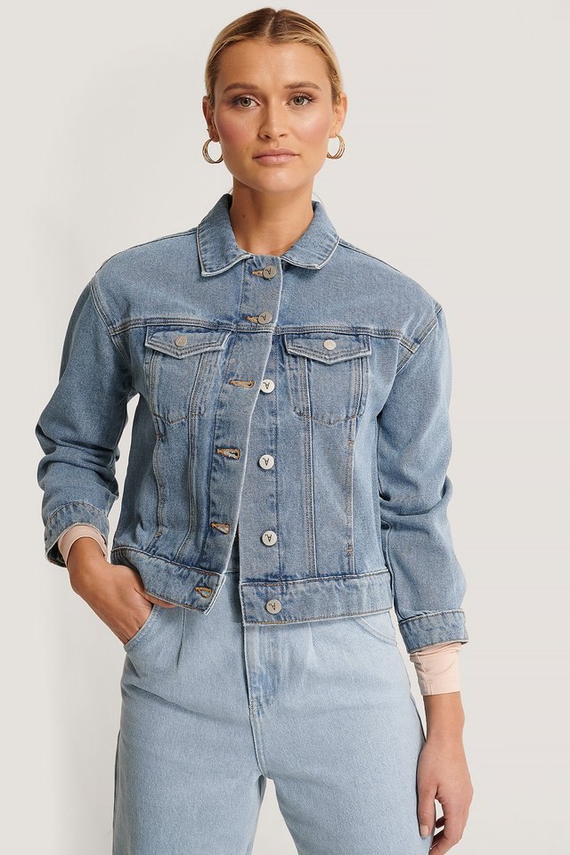 A Bonnie Denim Jacket Miss Jane