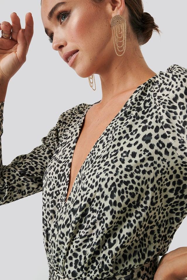 Slyther Dress Animal Print