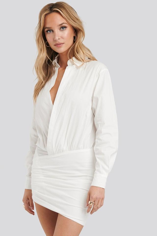 Raquel Dress White