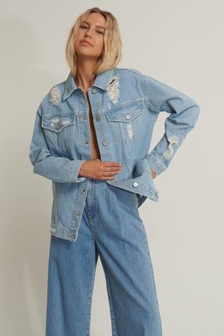 Light Blue Jeansjacke