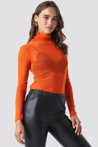 Orange Tulle Body
