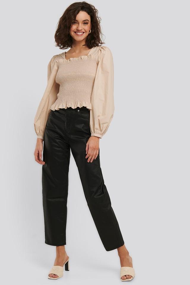 Wax Black Vintage Mom Jeans