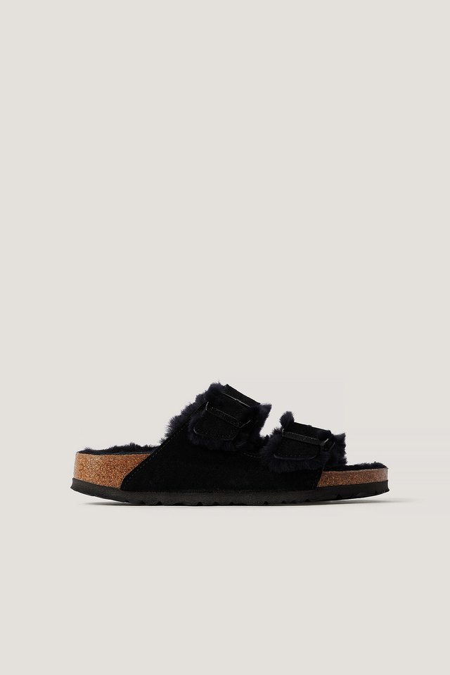 Arizona Shearling Black