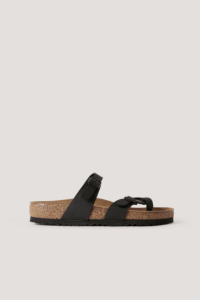 Slipper-Sandale Black