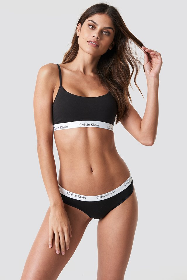 Bikini One Cotton Black
