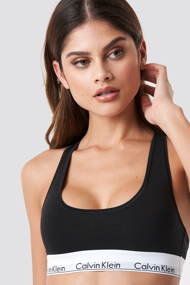 Bralette Modern Cotton Black