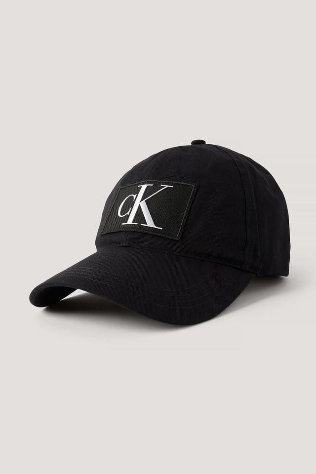 Black Baseballmütze Mit Logo