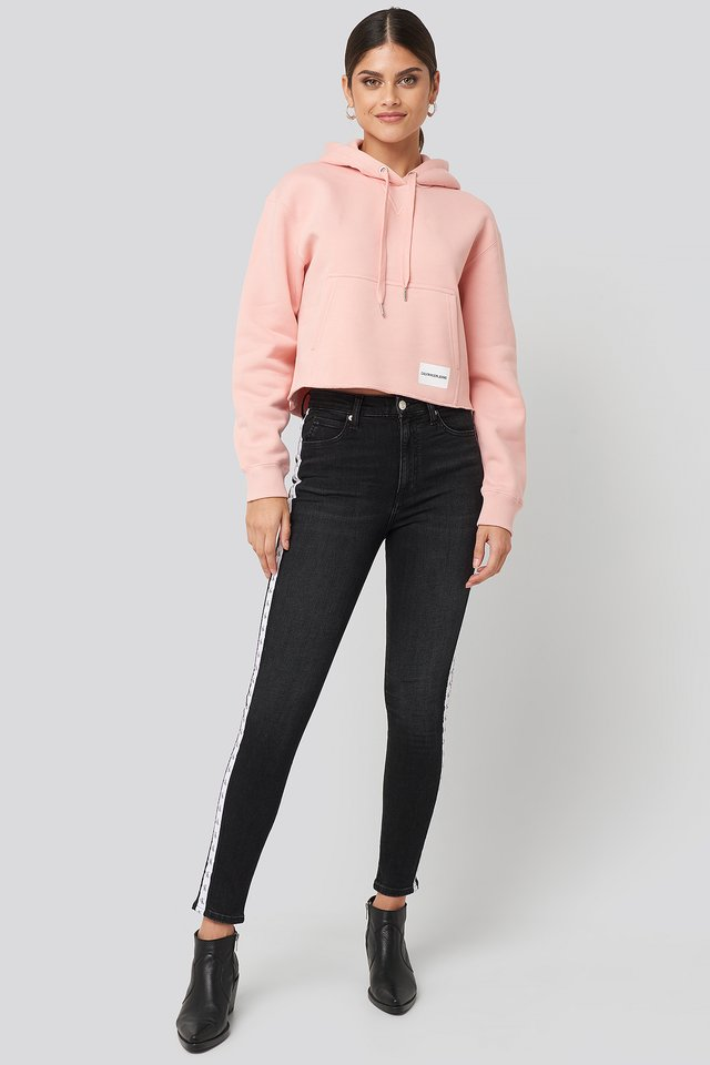 High Rise Skinny Ankle Denim Jeans Calvin Klein