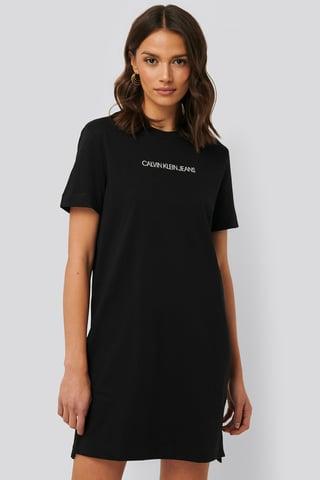 CK Black T-Shirtkjole