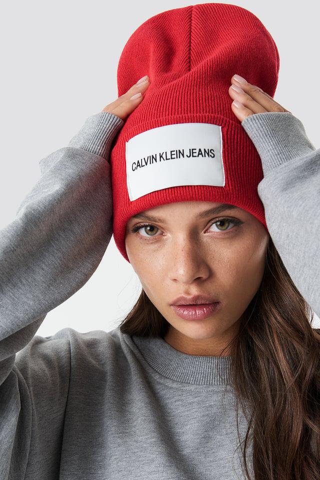 J Calvin Klein Jeans Beanie W High Risk