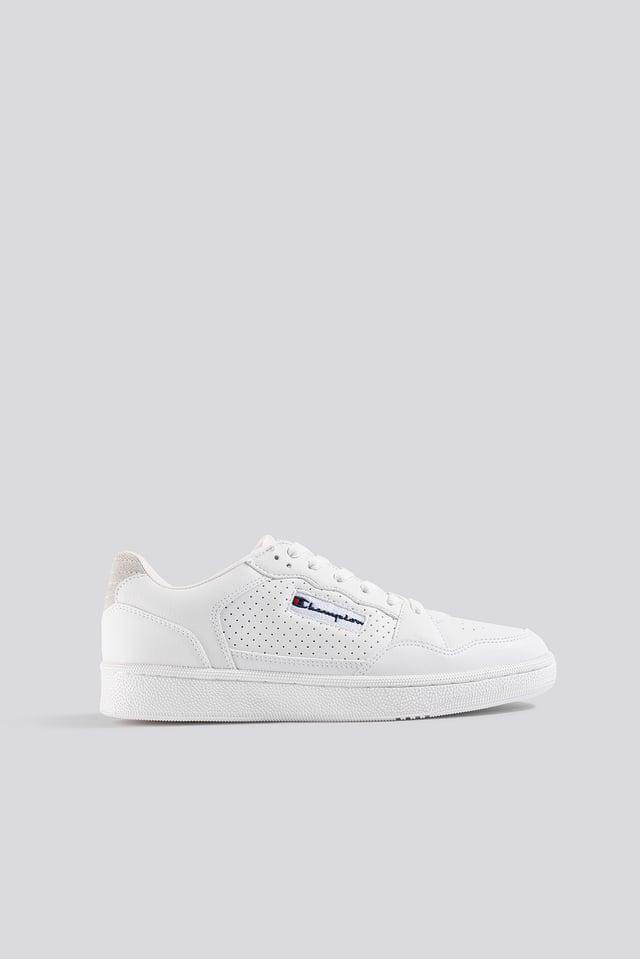 Cleveland Low Cut Shoe White