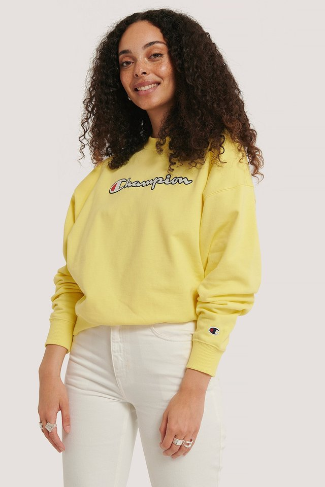 Crewneck Sweatshirt Lime Light