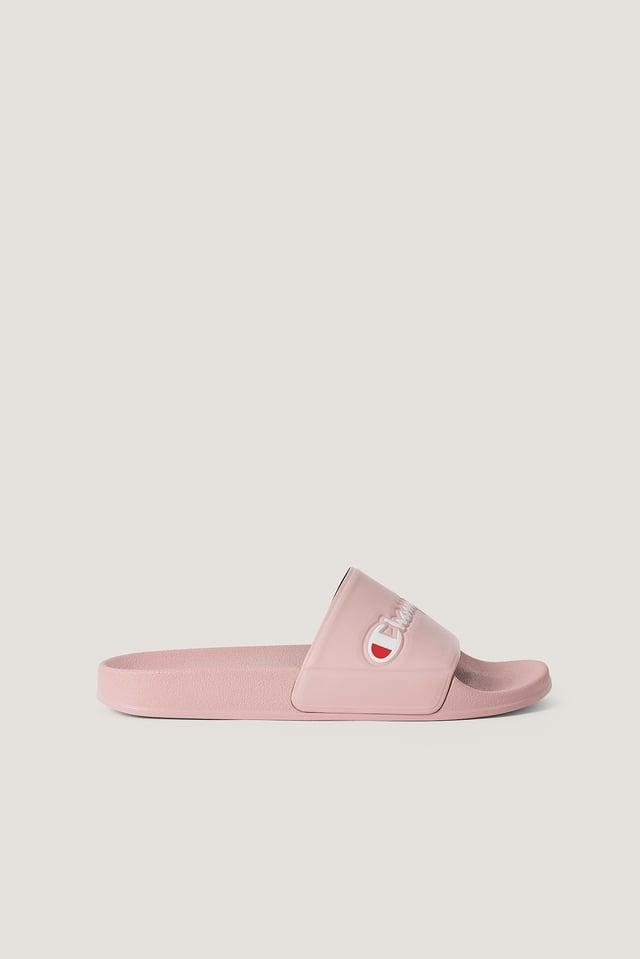 Schlüpf-Sandalen Pink