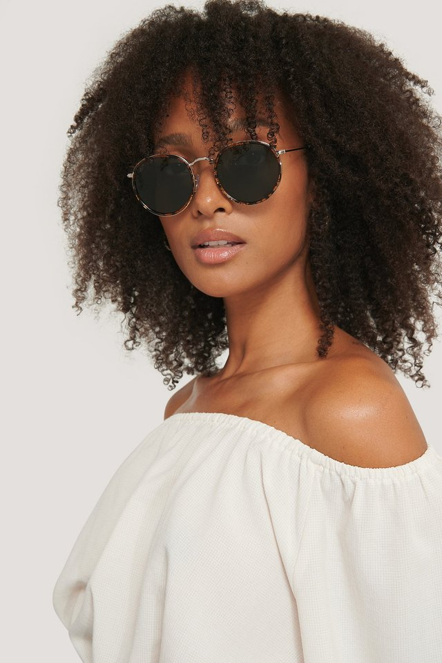 Brown Pasero Sunglasses