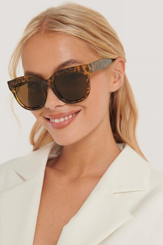 Brown Monza Sunglasses
