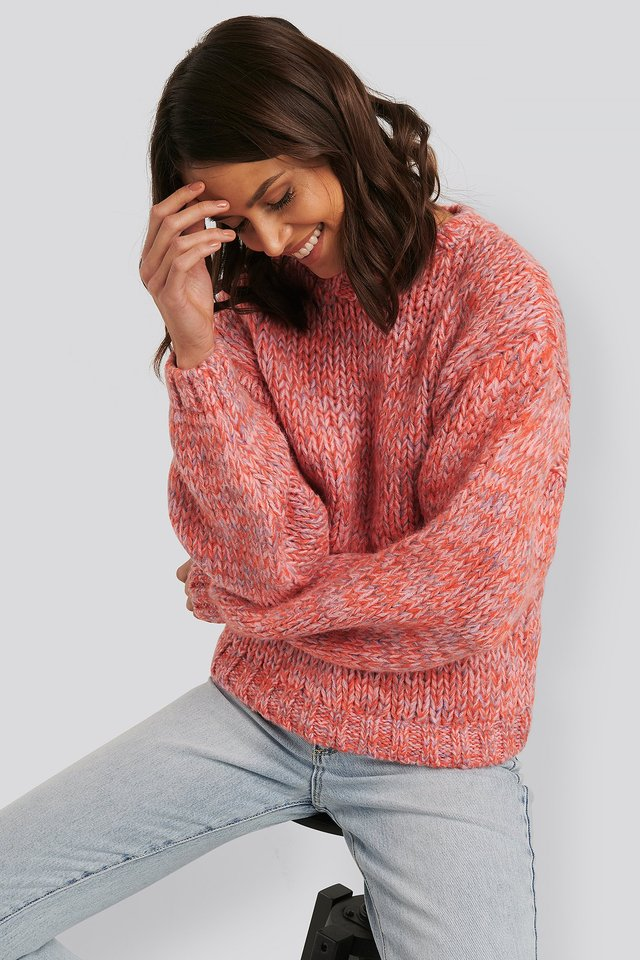 Chunky Sweater Rose