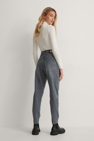 Washed Grey Nora Washed Jeans