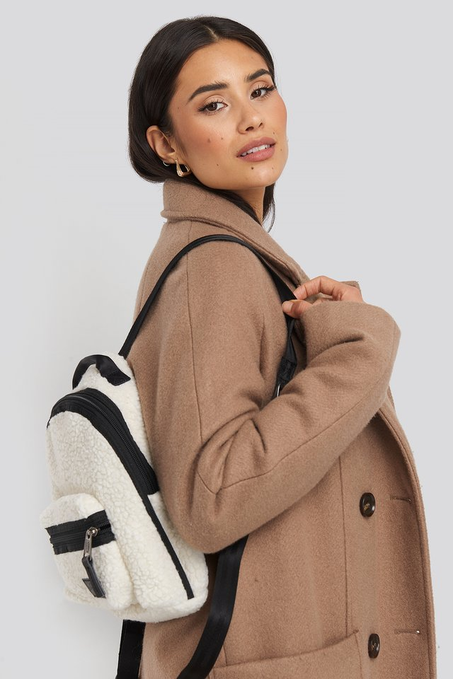 Shear Beige Orbit W Shear Bag