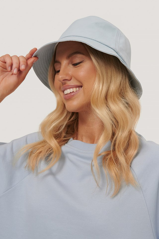 Bucket Hat Dusty Light blue