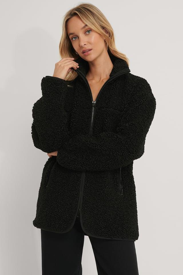 Pile Jacket Black