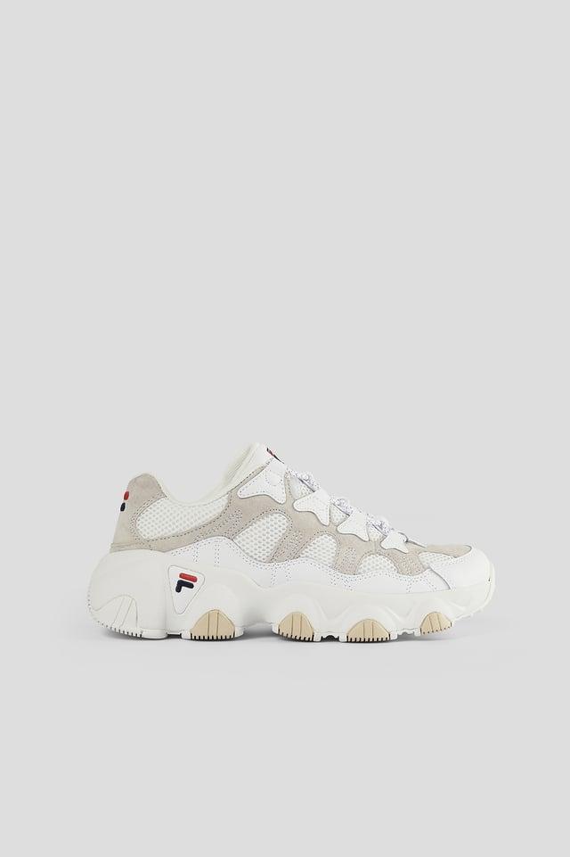 White Klassiska Sneakers