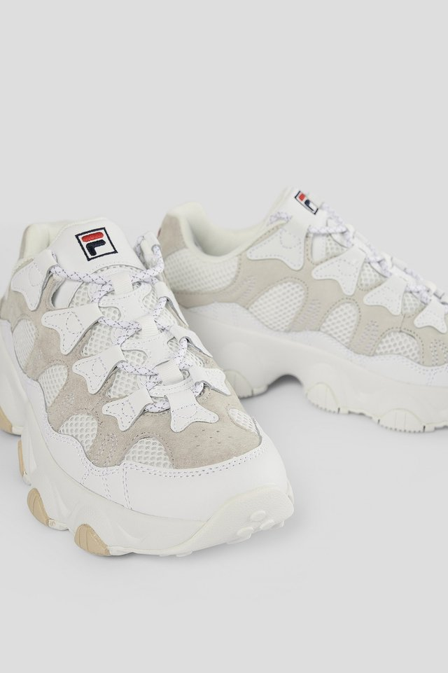 White Klassiska Sneakers