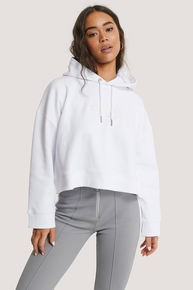 Maddy Oversized Hoody Bright White