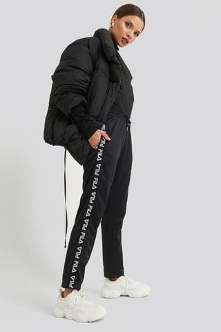 Black Padma Cropped Pants
