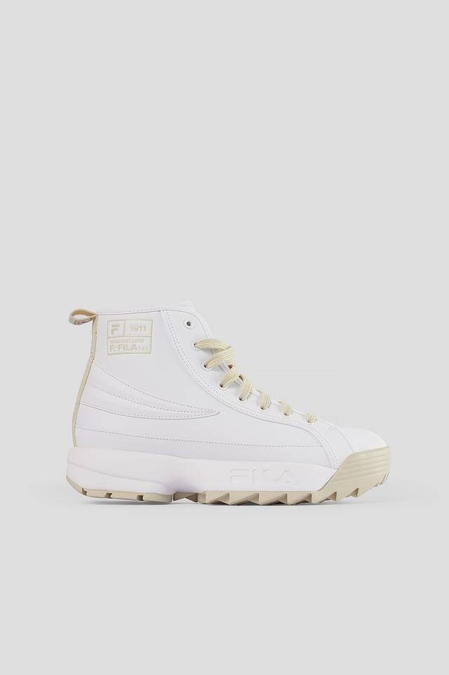 White Retroruptor Wmn Sneaker