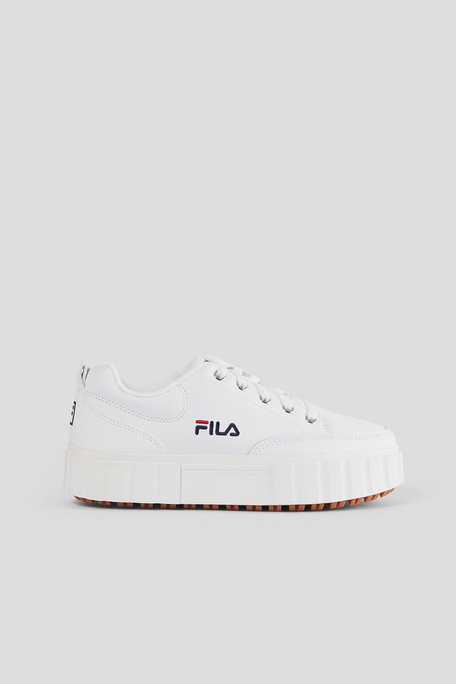 Skinnsneakers White