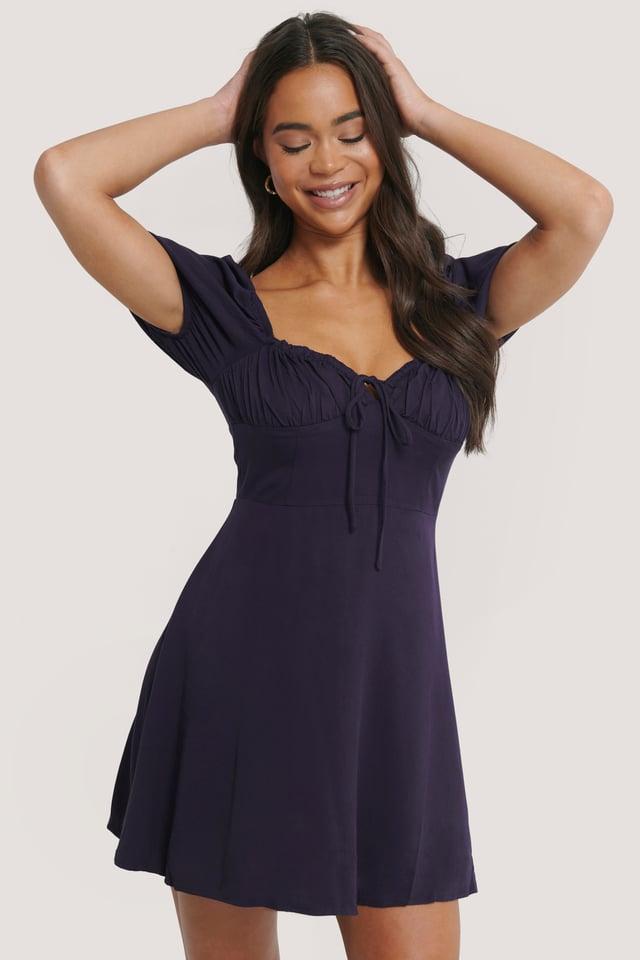 Minikleid Purple