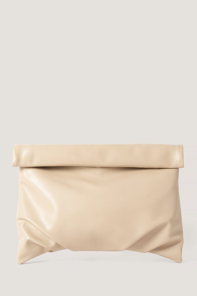 Roll Bag Beige
