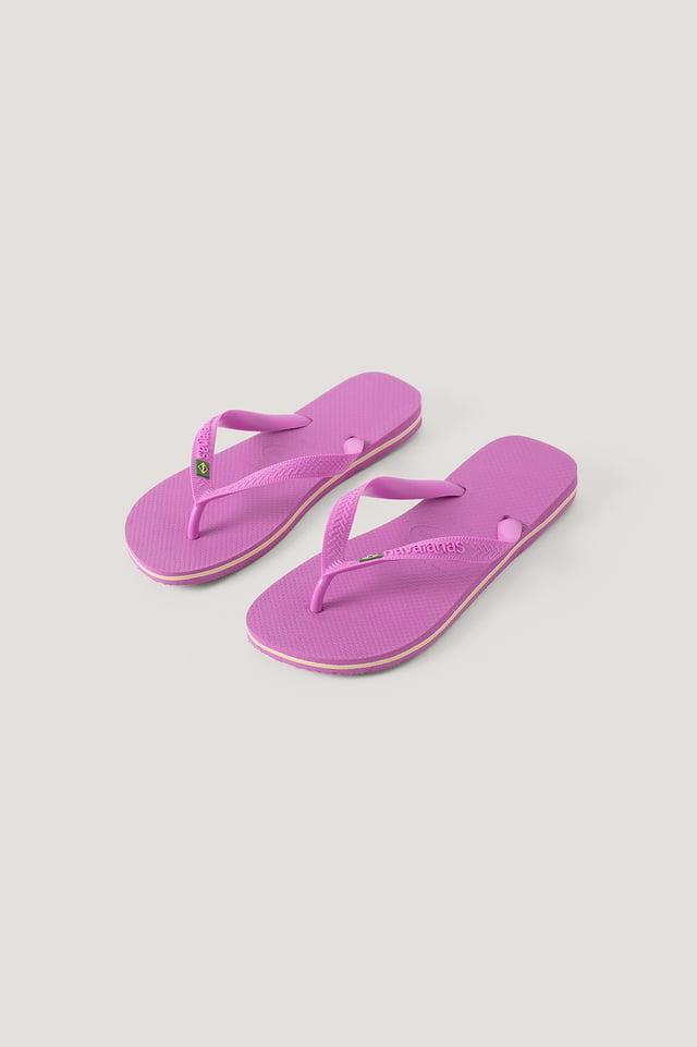 Havaianas Brazil Flip Flop Pastel Pink