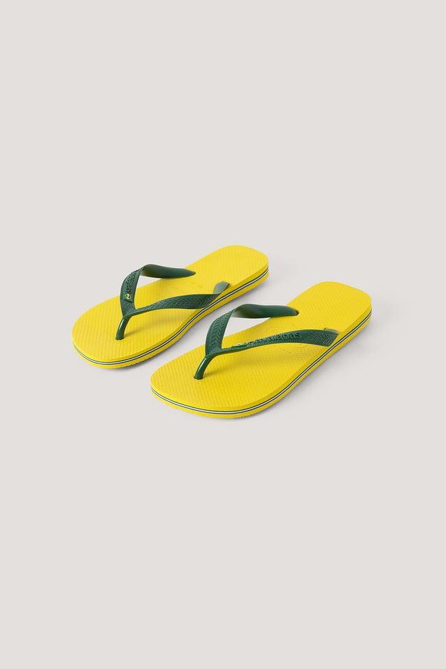 Havaianas Brazil Flip Flop Citrus
