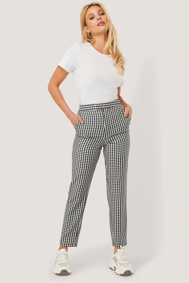 Pantalon Checkered