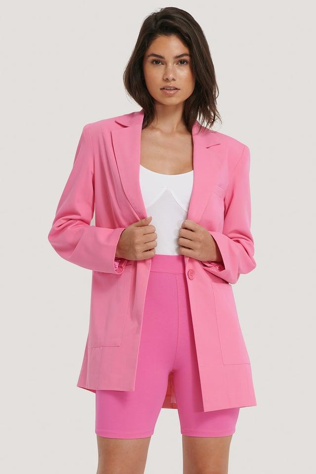 Culottes De Ciclista Pink