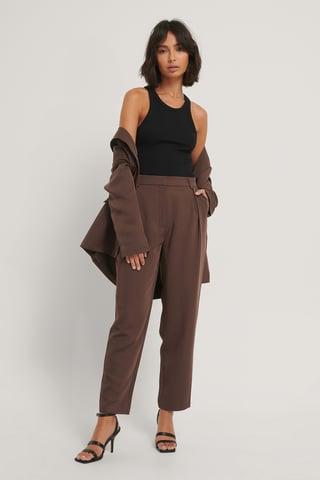 Brown Dressbukser