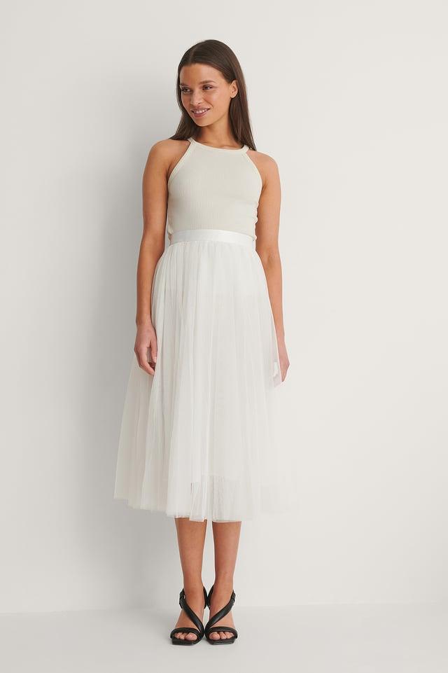 Ivory Flawless Skirt