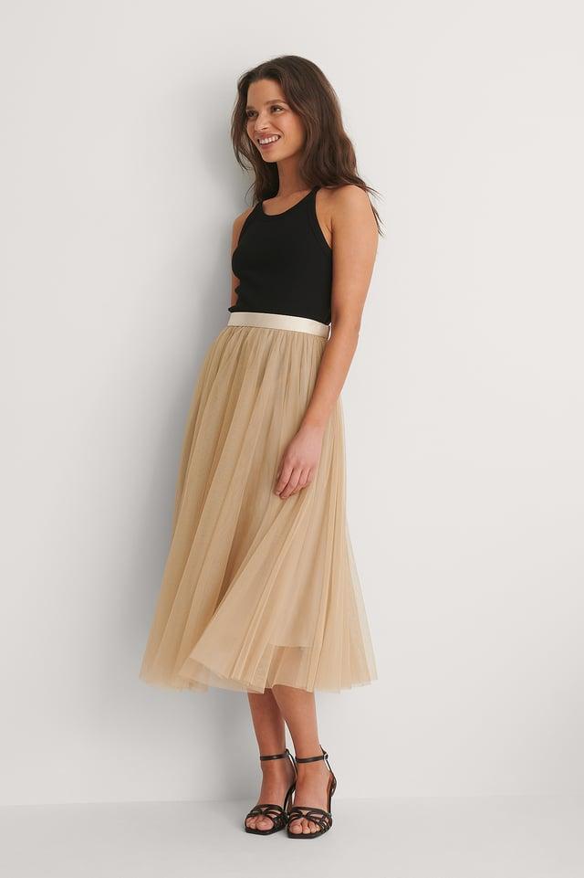 Sand Flawless Skirt